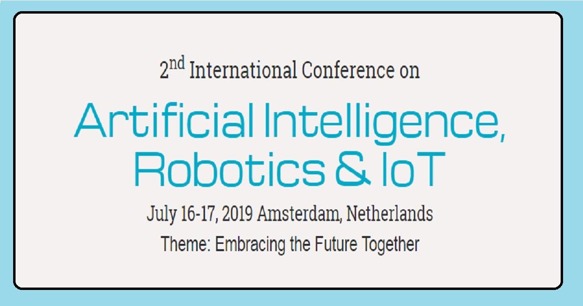 Artificial Intelligence, Robotics & IoT