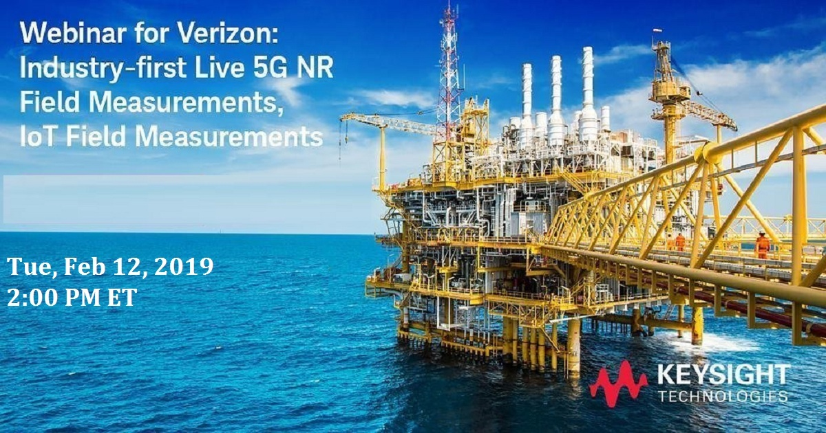 Industry-first Live 5G NR Field Measurements, IoT Field Measurements