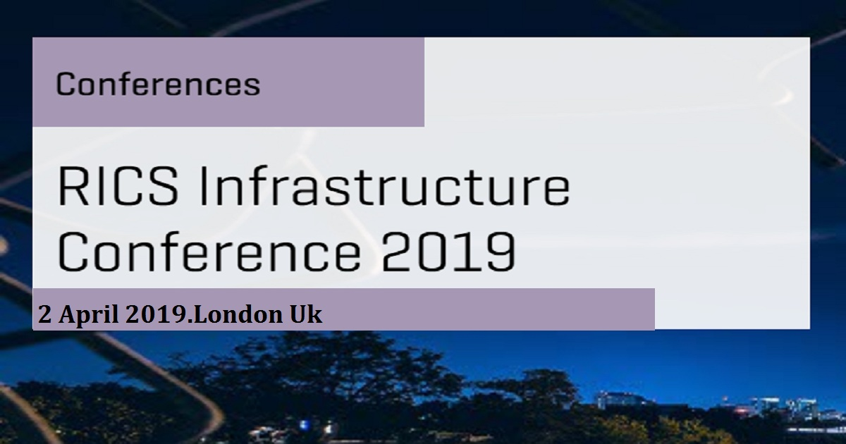 RICS Infrastructure Conference 2019