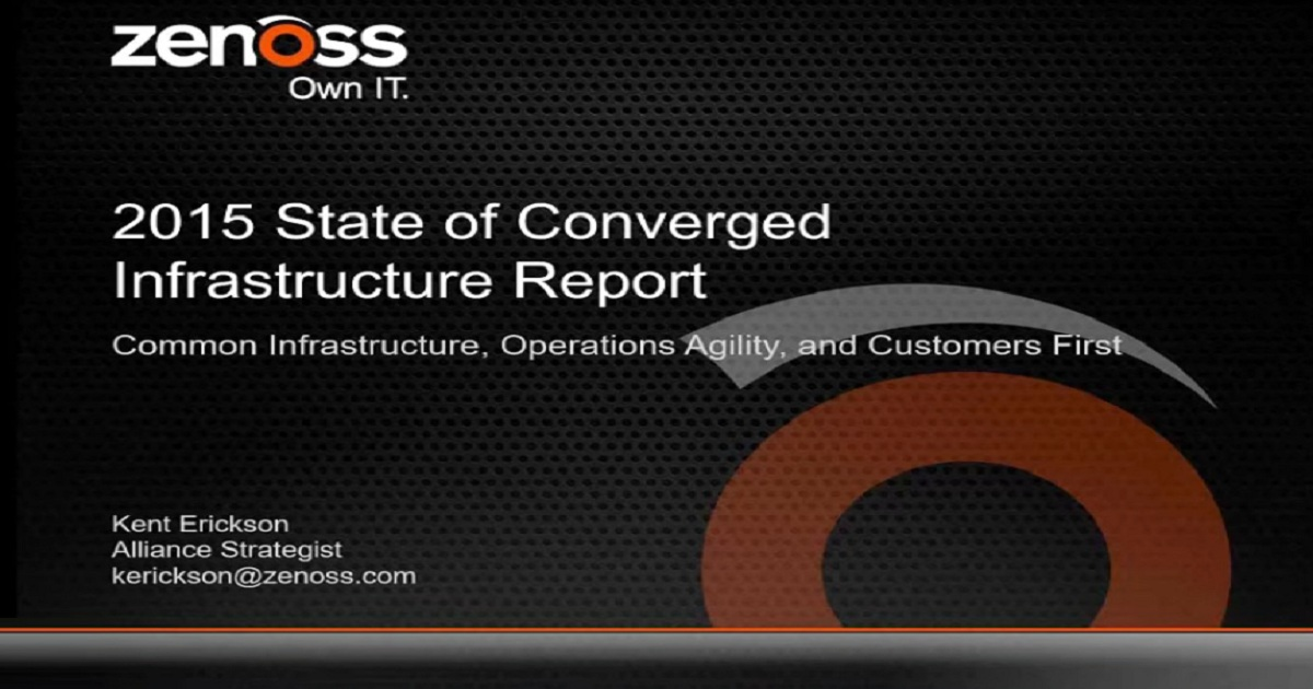 The 2015 State of Converged Infrastructure