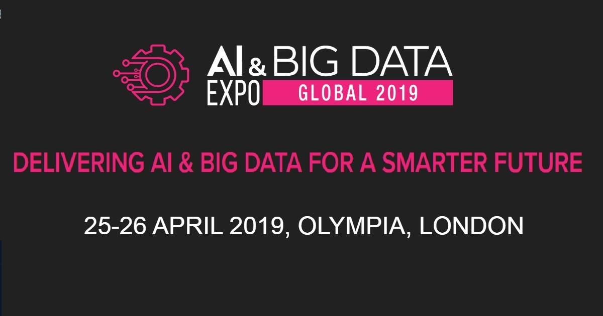 AI & Big Data Expo Global 2019
