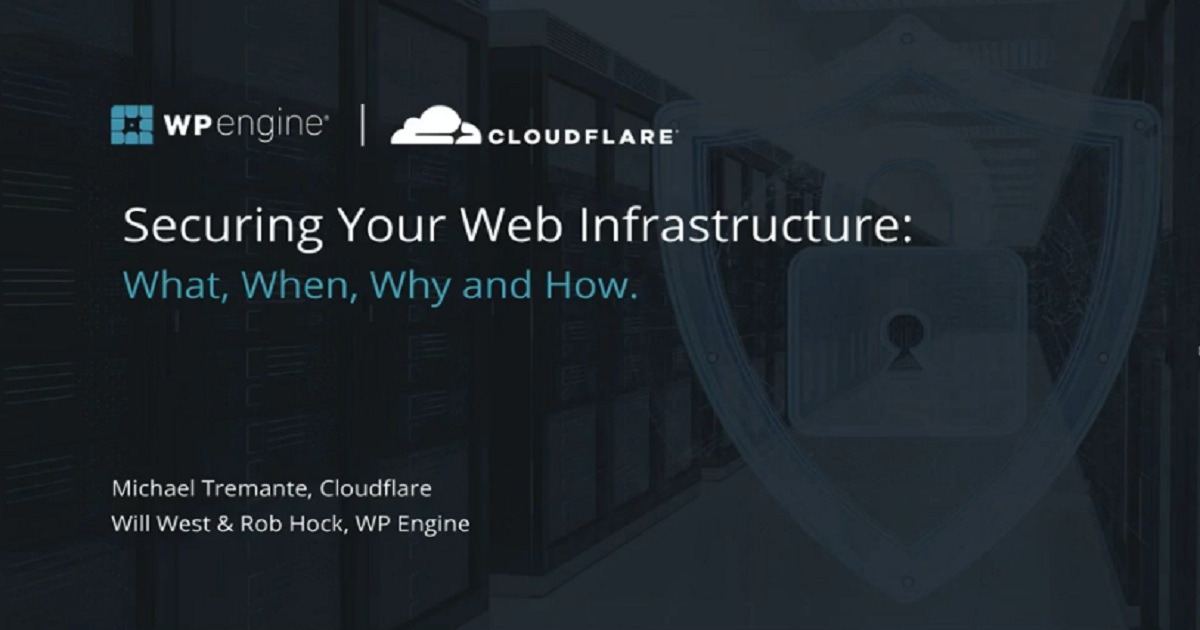 SECURING YOUR WEB INFRASTRUCTURE