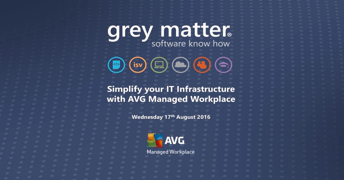 Webinar: Simplify your IT Infrastructure with AVG Managed Workplace