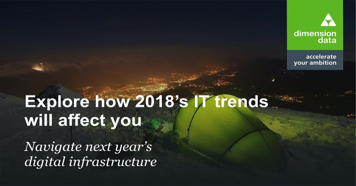 IT Trends in 2018: Digital Infrastructure