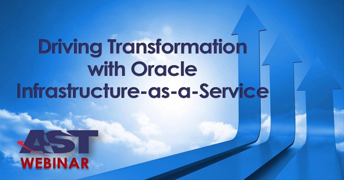 Driving Transformation with Oracle Cloud IaaS - An IT Value Platform