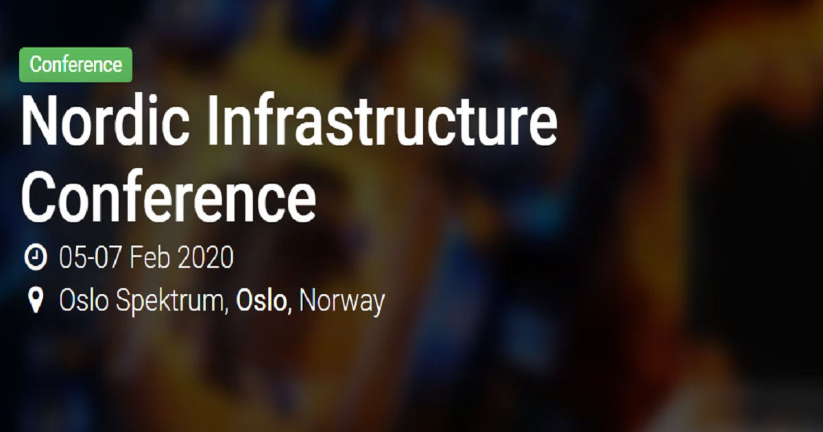 Nordic Infrastructure Conference