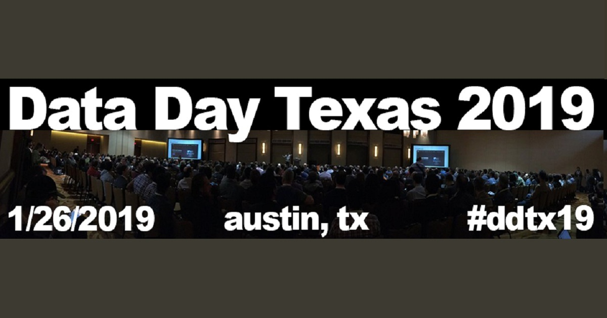 Data Day Texas 2019