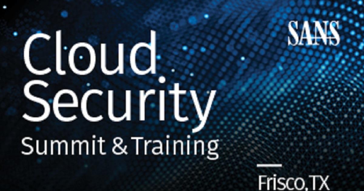 SANS Cloud Security Summit
