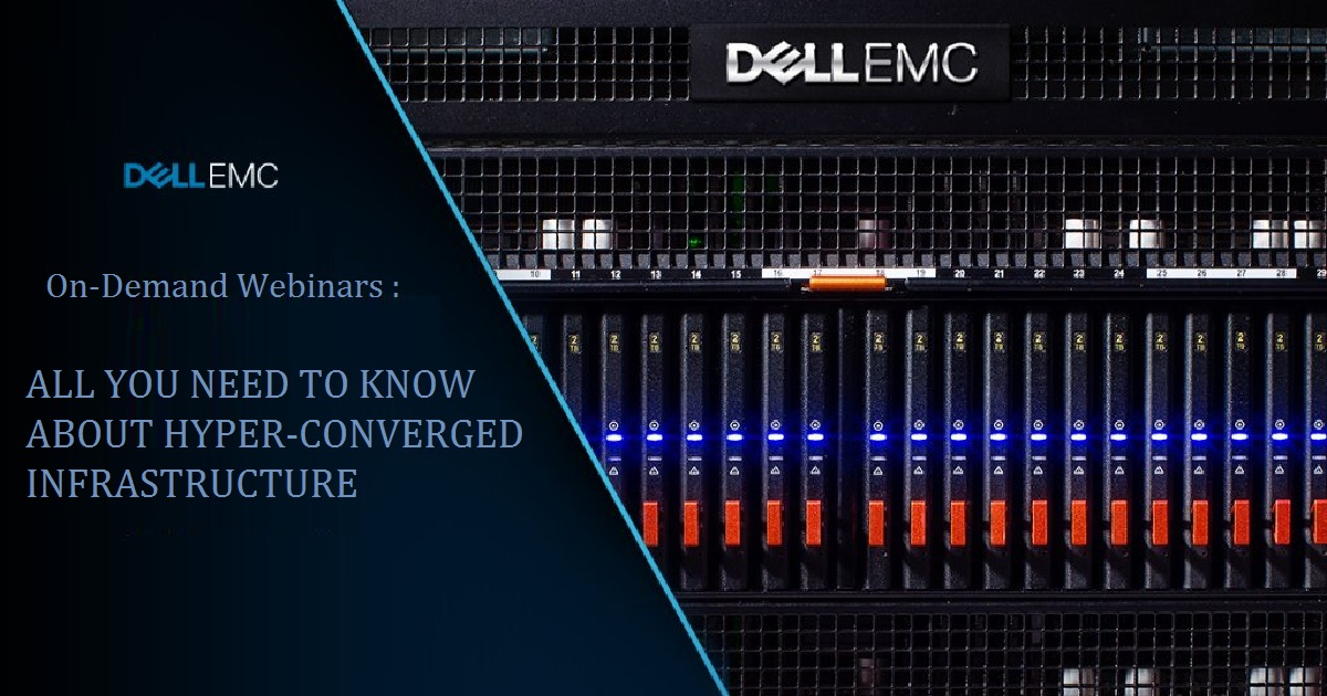 ALL YOU NEED TO KNOW ABOUT HYPER-CONVERGED INFRASTRUCTURE