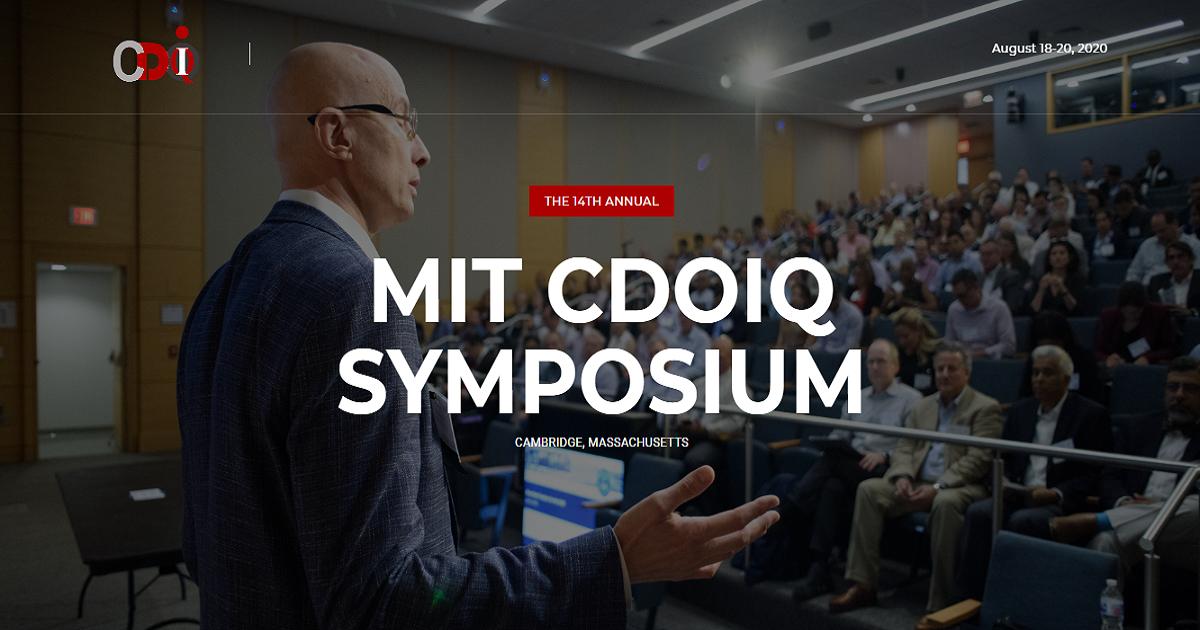 THE 14TH ANNUAL MIT CDOIQ SYMPOSIUM