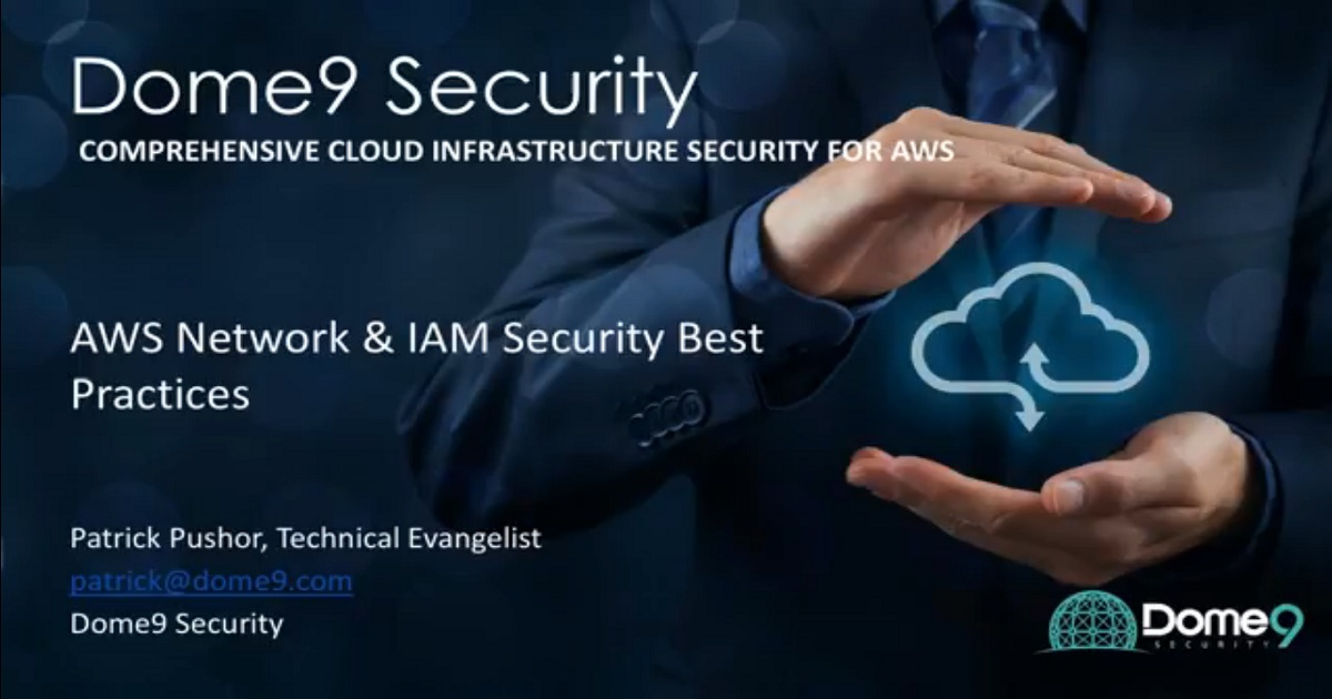 AWS Network & IAM Security Best Practices