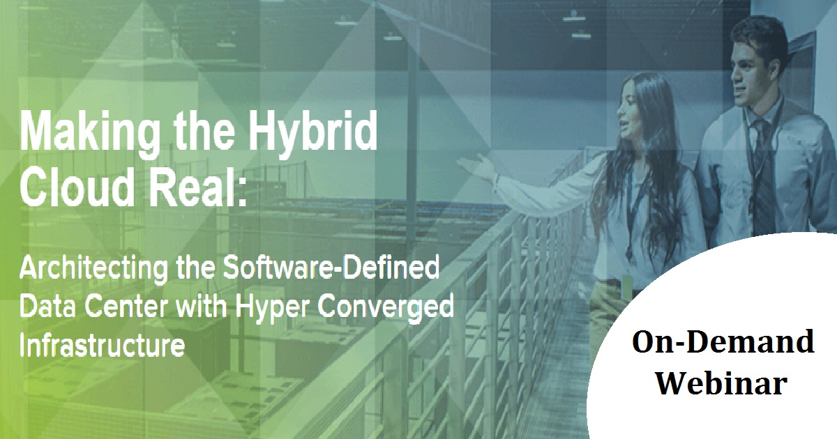Making the Hybrid Cloud Real