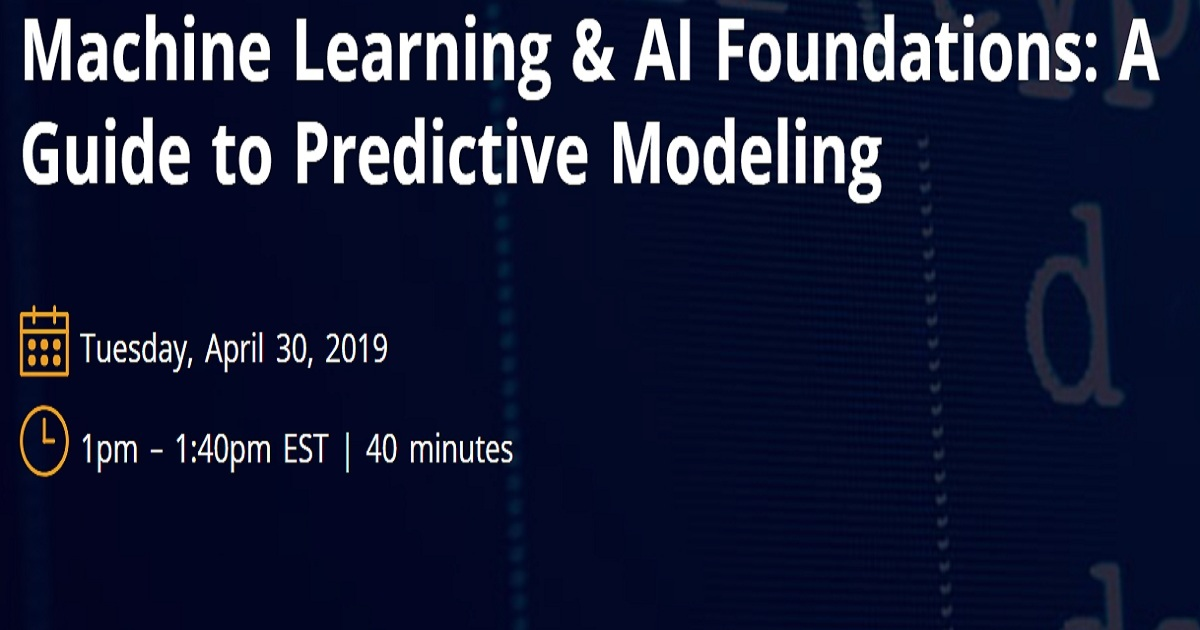Machine Learning & AI Foundations: A Guide to Predictive Modeling