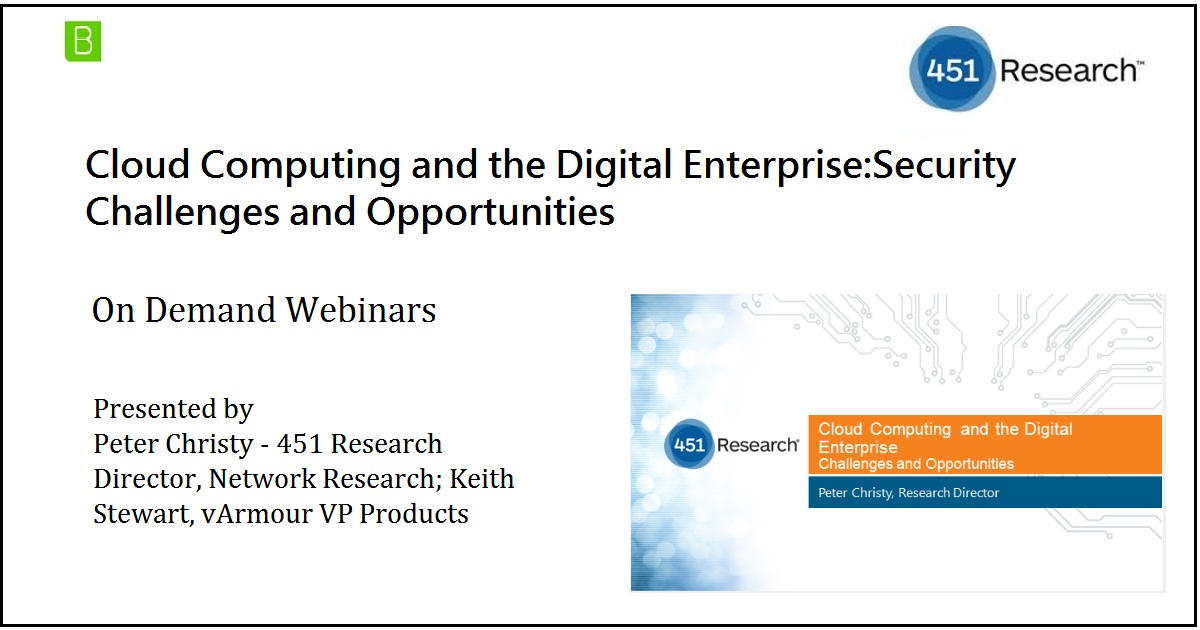 Cloud Computing and the Digital Enterprise:Security Challenges and Opportunities