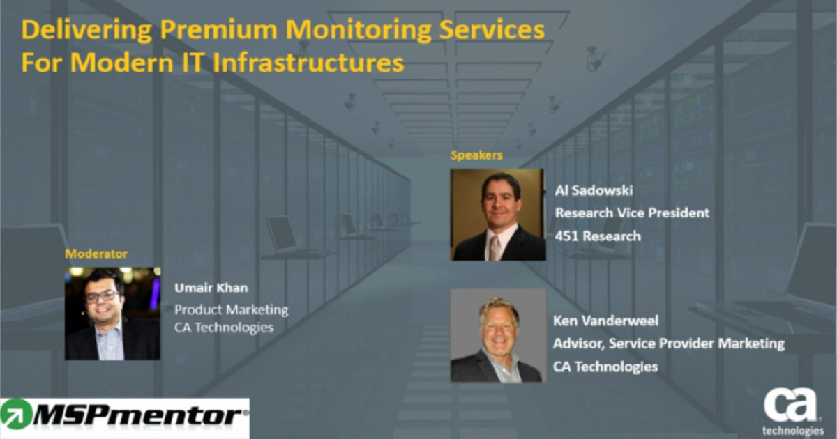 Delivering Premium Monitoring Services for Modern IT Infrastructures
