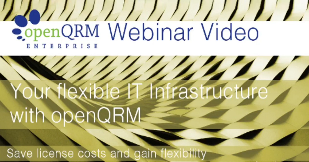 Your Flexible IT Infrastructure with openQRM Enterprise