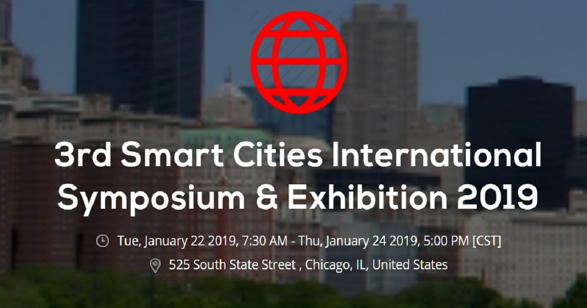 3rd Smart Cities International Symposium & Exhibition 2019