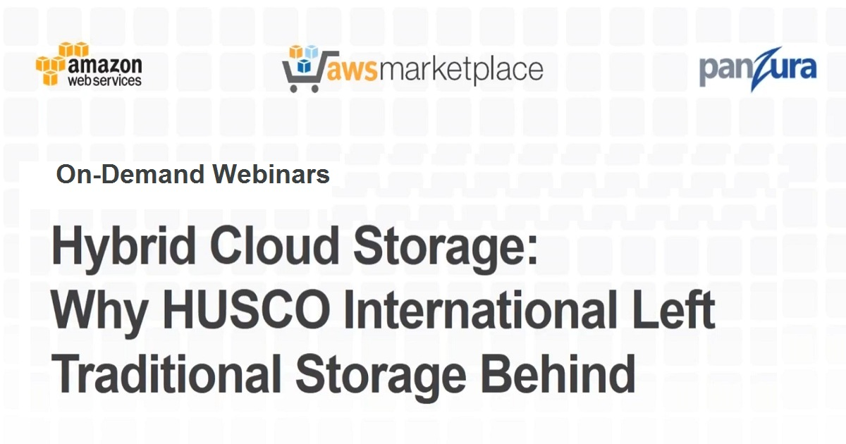 Hybrid Cloud Storage: Why HUSCO International Left Traditional Storage Behind
