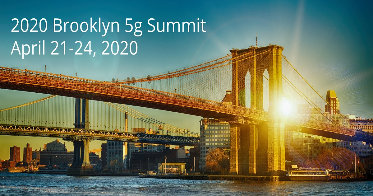 THE BROOKLYN 5G SUMMIT IS A YEARLY 5G