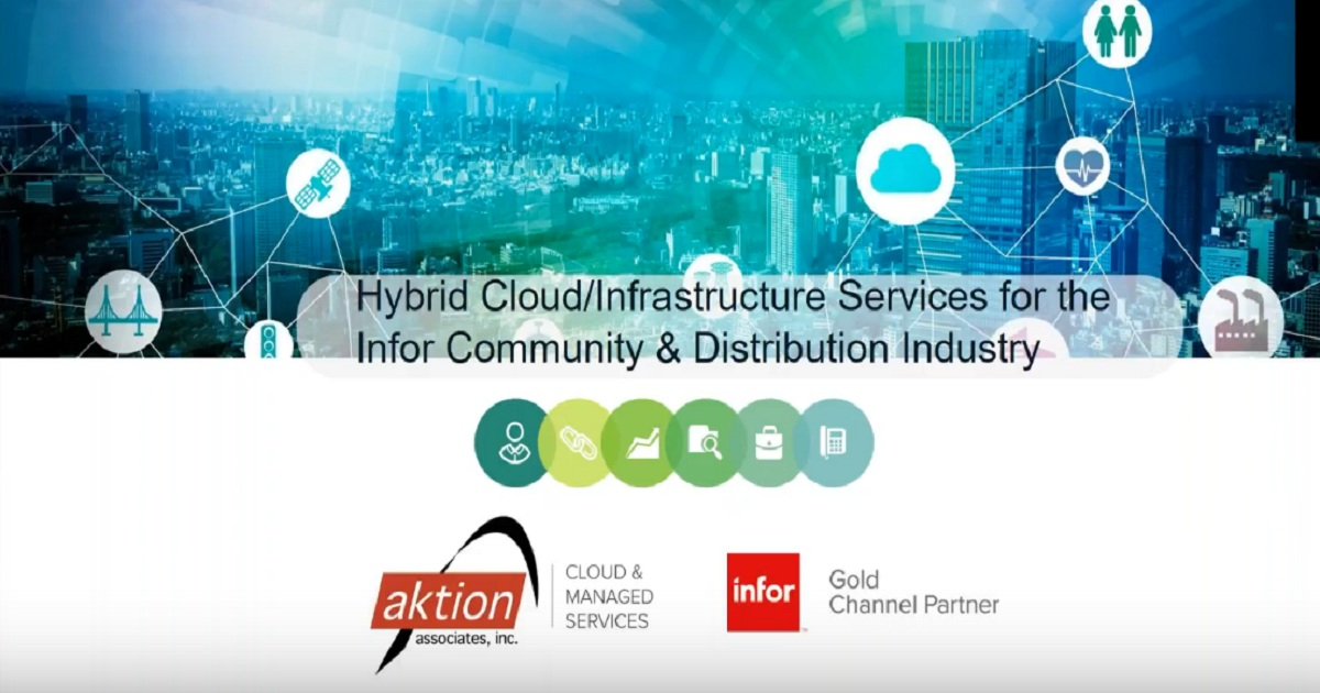 WEBINAR Aktion Hybrid Cloud Infrastructure Networking Solutions for Distribution