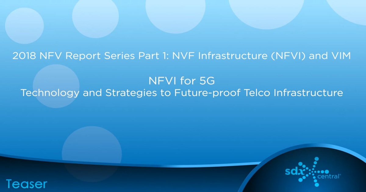 NFVI for 5G – Technology and Strategies to Future-proof Telco Infrastructure