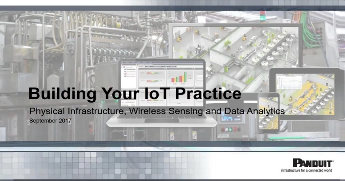 Physical Infrastructure, Wireless Sensing, and Data Analytics Webinar