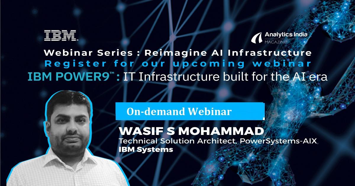 IBM POWER9TM – IT Infrastructure built for the AI era