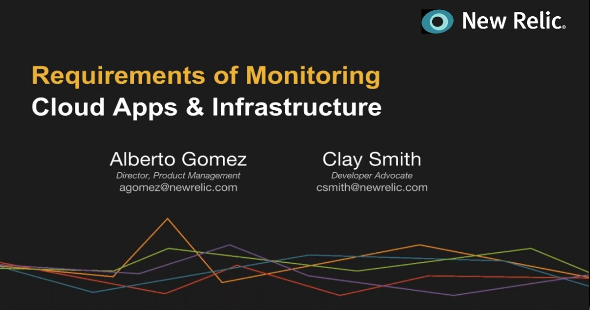 Requirements of Monitoring Cloud Apps & Infrastructure
