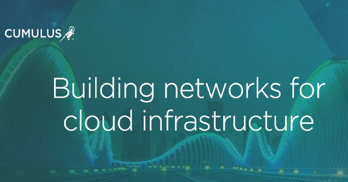 Building networks for cloud infrastructure