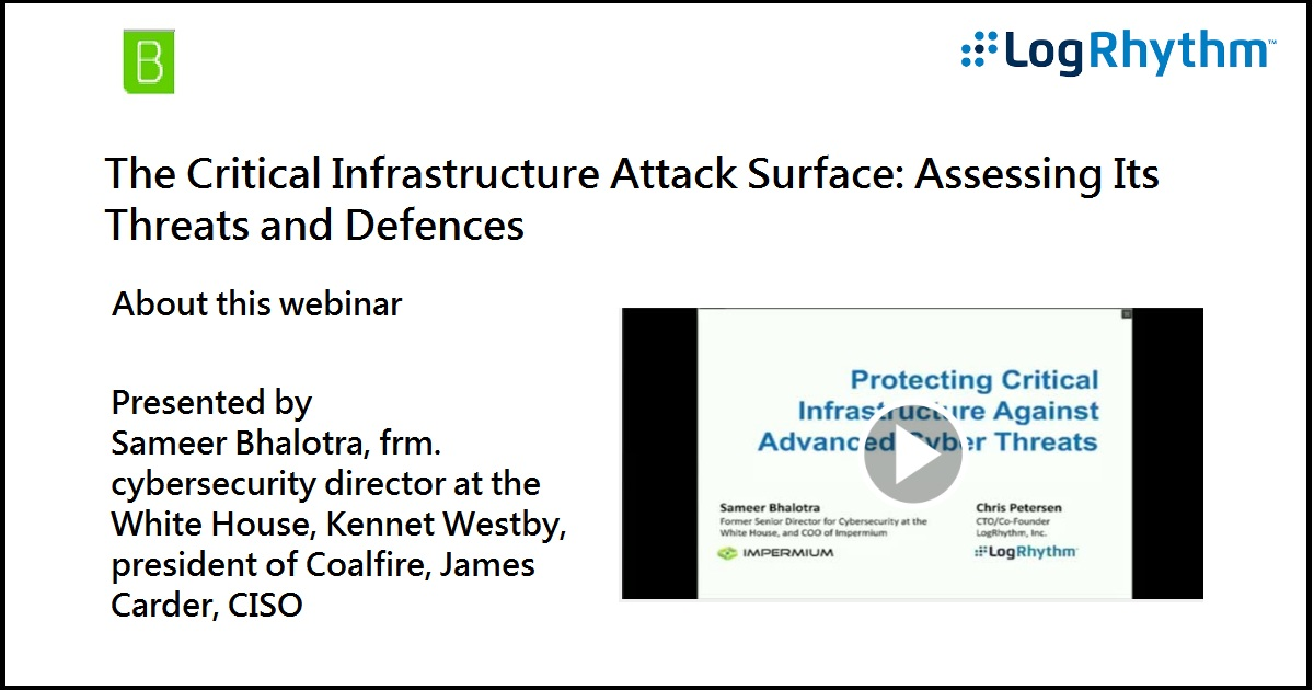 The Critical Infrastructure Attack Surface: Assessing Its Threats and Defences
