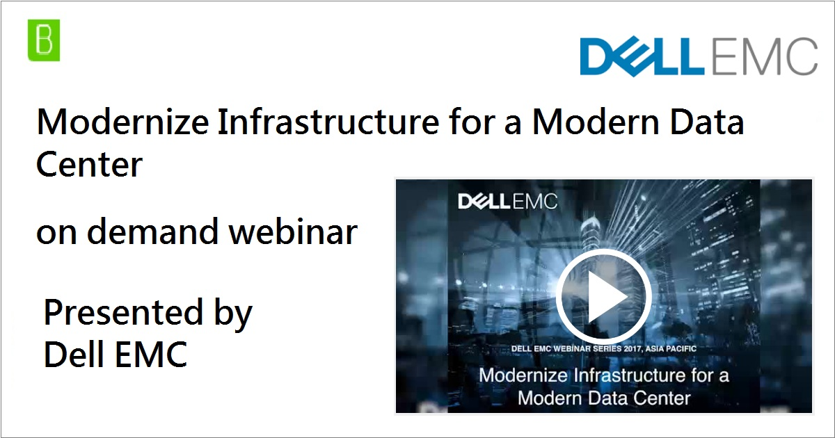 Modernize Infrastructure for a Modern Data Center