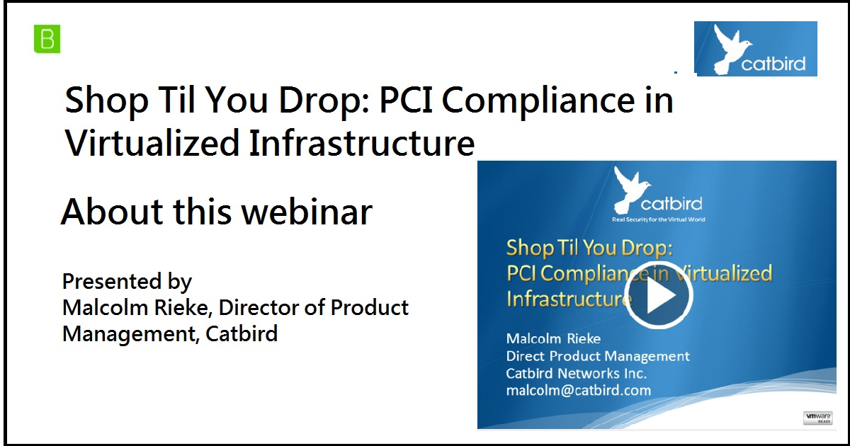 Shop Til You Drop: PCI Compliance in Virtualized Infrastructure