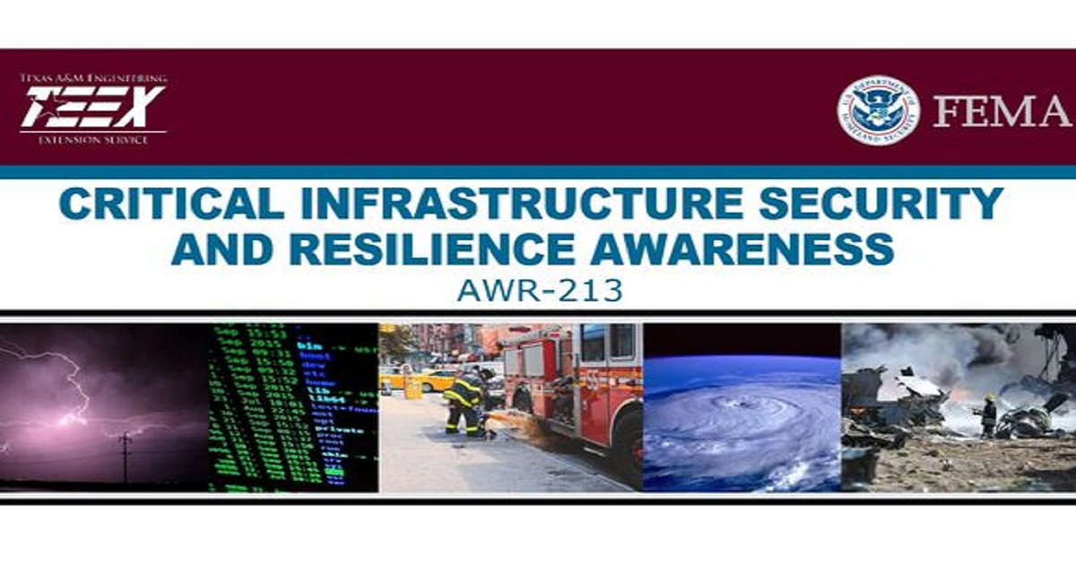 Critical Infrastructure Security and Resilience Awareness
