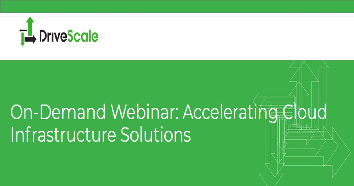 Accelerating Cloud Infrastructure Solutions