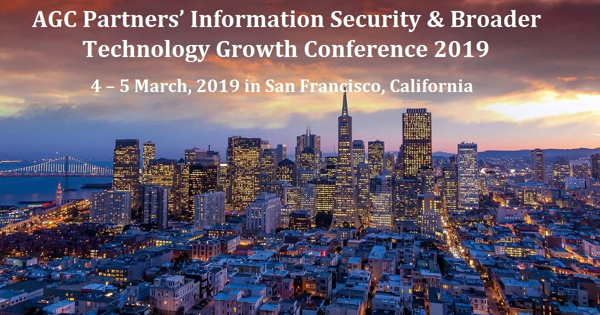 AGC Partners' Information Security & Broader Technology Growth Conference 2019