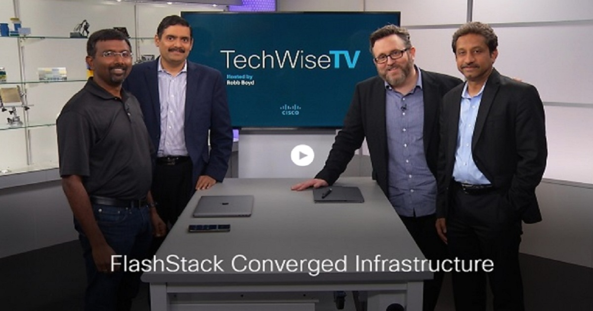 FlashStack Converged Infrastructure: Performance without Complexity on TechWiseTV