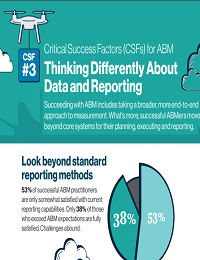 CRITICAL SUCCESS FACTORS FOR ABM: THINKING DIFFERENTLY ABOUT DATA AND REPORTING