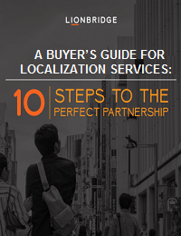 A BUYER'S GUIDE FOR LOCALIZATION SERVICES: