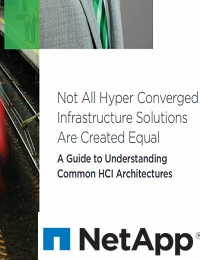 NOT ALL HYPER CONVERGED INFRASTRUCTURE SOLUTIONS ARE CREATED EQUAL