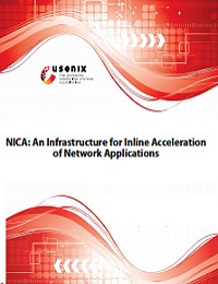 NICA: AN INFRASTRUCTURE FOR INLINE ACCELERATION OF NETWORK APPLICATIONS