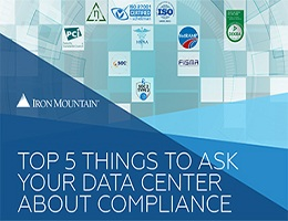 TOP 5 THINGS TO ASK YOUR DATA CENTER ABOUT COMPLIANCE