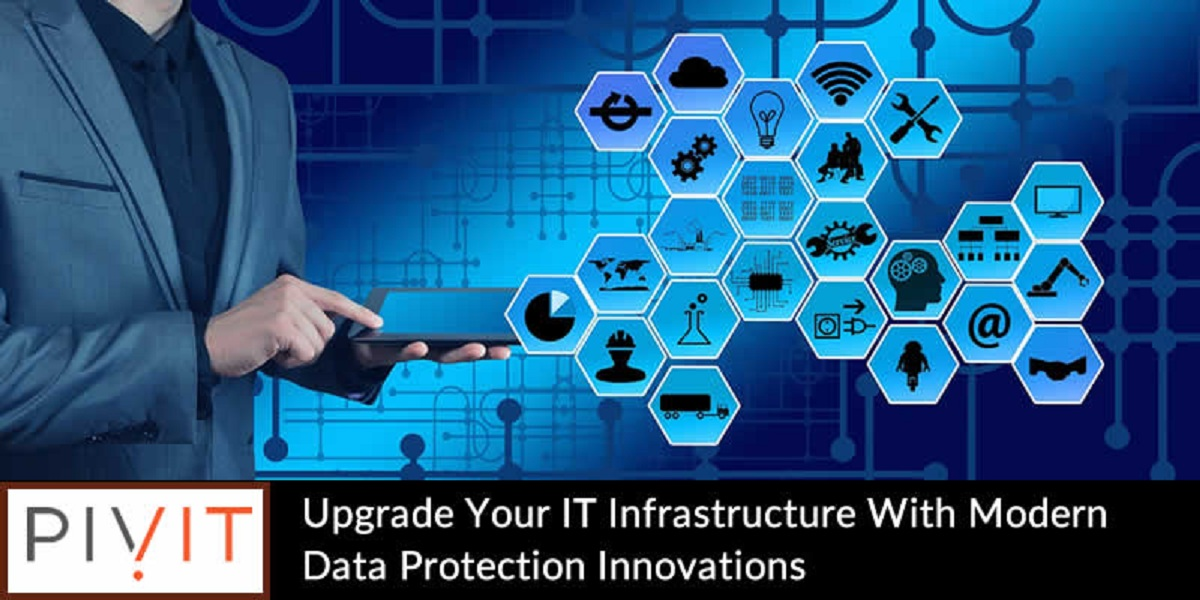UPGRADE YOUR IT INFRASTRUCTURE WITH MODERN DATA PROTECTION INNOVATIONS