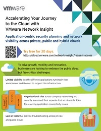 ACCELERATING YOUR JOURNEY TO THE CLOUD WITH VMWARE NETWORK INSIGHT
