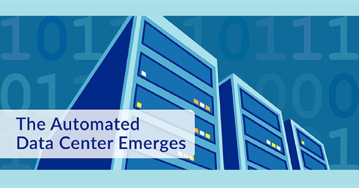 THE AUTOMATED DATA CENTER EMERGES