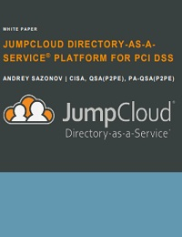 JUMPCLOUD DIRECTORY-AS-ASERVICE ® PLATFORM FOR PCI DSS