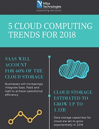 TOP 5 CLOUD COMPUTING TRENDS FOR 2018