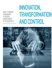 WHY IT NEEDS OVERSIGHT IF DIGITAL INVESTMENT IS TO SUCCEED