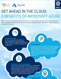 GET AHEAD IN THE CLOUD: 8 BENEFITS OF MICROSOFT AZURE