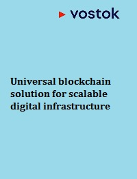UNIVERSAL BLOCKCHAIN SOLUTION FOR SCALABLE DIGITAL INFRASTRUCTURE