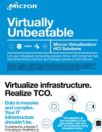 MICRON VIRTUALIZATION/ HCI SOLUTIONS